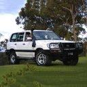 Шнорхел VROMOS за Toyota Land Cruiser 100