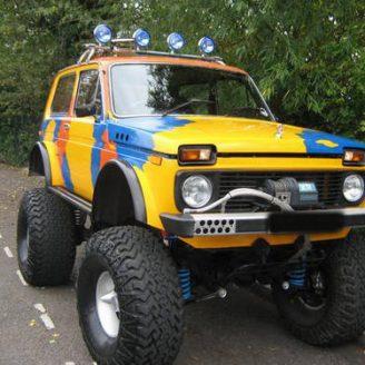 Lada Niva 4x4 Тунинг