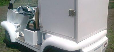 Електрически товарен автомобил ВРОМОС 6042KXC