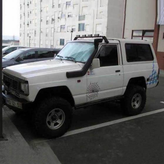 Шнорхел VROMOS за Nissan Patrol MK/MQ (160/260)