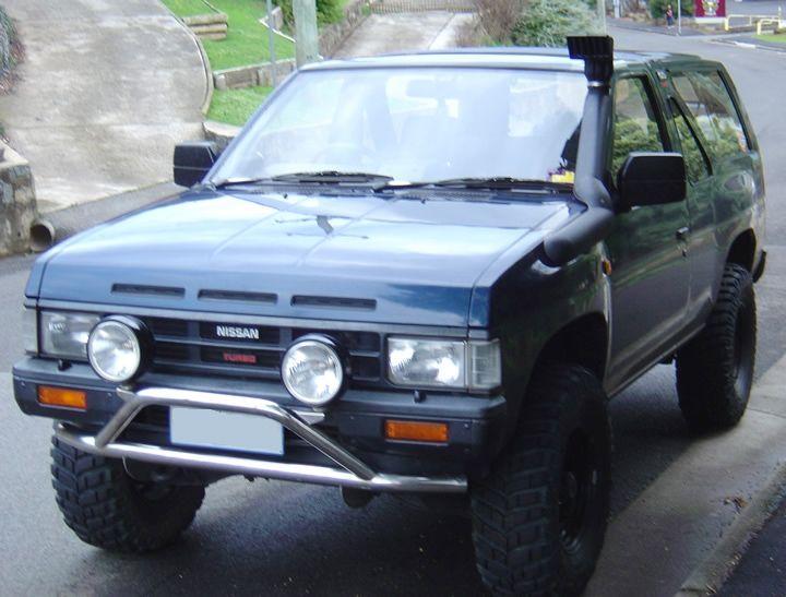 Шнорхел VROMOS за Nissan Terrano 1 / Navara D21