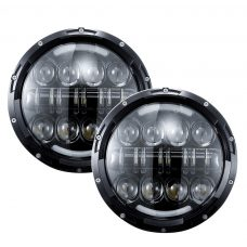 "VROMOS Jeep Headlight 7"" 80W (2 броя комплект)."