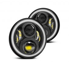 "VROMOS Jeep Headlight 7"" 50W (комплект) - 18cm."
