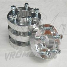 Фланци VROMOS за Mercedesса изработени от високо якостна алуминиева сплав6061-T6.