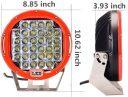 LED фар VROMOS 320W – Размер 9''