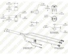 Vromos инсталация за свързване на халогенни фарове, лед фарове, лед барове и др