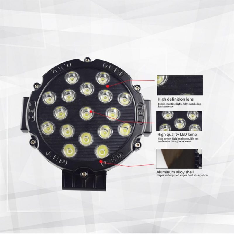 Vromos LED фар 51W
